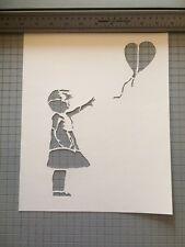 Banksy Street Art Stencil Large