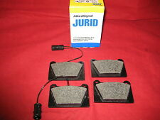 ROVER & MG METRO JURID QUALITY FRONT BRAKE PADS SET 80-83 WITH LOCKHEED SYSTEM