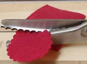 Shear Scissors Clipper 7mm Professional Dressmaking Scalloped Round Edge Pinking