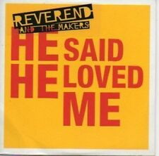 (410C) Reverend & The Makers, He Said He Loved Me DJ CD