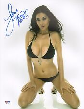 Tera Patrick Signed 11x14 Photo PSA/DNA COA Picture Autograph Penthouse Hustler