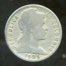 COLOMBIE 5  centavos 1935