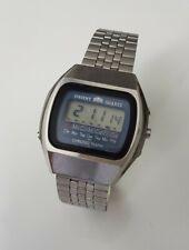 Orient Quartz LCD Digital Chronograph Vintage 1980's Armbanduhr
