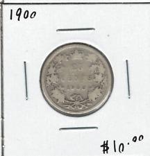 Canada 1900 25 Cent Silver Lot#2
