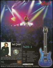 Neil Zaza Signature Cort NZS-1 electric guitar ad 8 x 11 advertisement