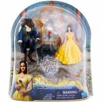 Disney Beauty and the Beast Enchanted Rose Scene Playset New Belle Beast