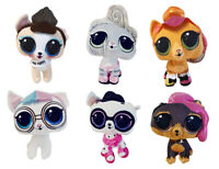 LOL Surprise verschiedene Stofftiere, Plüschfiguren zum Sammeln und Spielen NEU