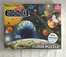 Melissa And Doug Solar System 48 Piece Floor Puzzle NEW Toys Fun Kids New Sealed