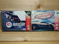 N64 Game Lot Automobili Lamborghini & Nascar 99 Tested Games and Boxes