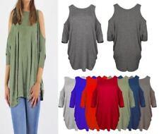 Camisa de mujer de color principal verde talla M
