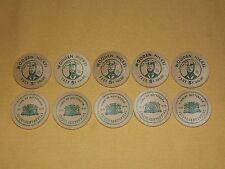 VTG 10 1820-1970 TOWN OF ROTTERDAM SESQUI-CENTENNIAL FUN FOR ALL  WOODEN NICKLES