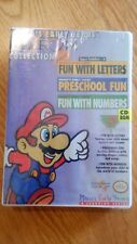 SUPER MARIO EARLY YEARS CD-ROM WINDOWS 1993 NEW SEALED MINDSCAPE NINTENDO