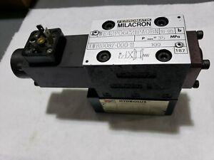 Ferromatik Milacron Valve WE42P06C21PAOBN + HYDROLUX Valve ZFDRP06A4KOAS/A15