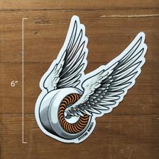 """Spitfire Wheels Sticker - Orange - Decal 6"""" Anti Hero Krooked Spitfire"""