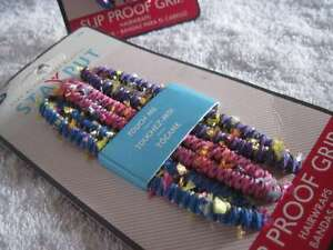 3 Goody Girls Sized Stay Put Grip Hair Wraps Hold Tight Ouchless Head Bands 2006