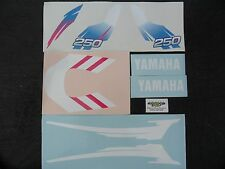 Yamaha TY 250 Trials Mono Pinky Sticker Kit - New Design