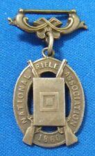 British NRA Medal Medallion Vintage National Match