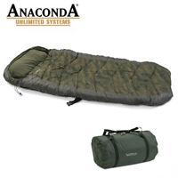 Sänger Anaconda Nightwarrior III Schlafsack Camping Angeln Fischen TOP