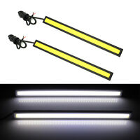 2x Useful 12V LED COB Car DRL Driving Daytime Running Light Bulb Fog Lamp White