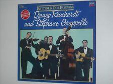 DJANGO REINHARDT & STEPHANE GRAPPELLI Rhythm Is Our Business LP