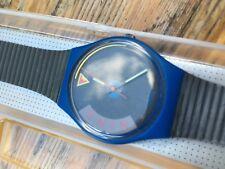 Montre Swatch Blue Jet 1989 NEUVE! Dans sa boite