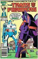 🔥The Transformers Comic Book #20 Marvel Comics 1986 NICE NEWSSTAND🔥