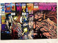 MARVEL COMICS PRESENTS #80 81 82 84 LOT SET RUN 1988 WOLVERINE WEAPON X