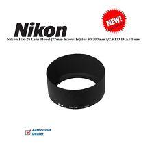 Nikon HN-28 Lens Hood (77mm Screw-In) for 80-200mm f/2.8 ED D-AF Lens NEW