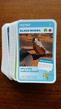 WOOLWORTHS SUPER ANIMALS TARONGA BLUE FULL SET OF 108 CARDS