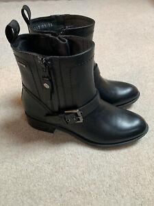 Geox Felicity ABX ladies boots   black   size 2.5   new