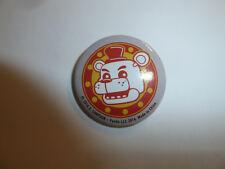 Five Nights At Freddy's Fazbear logo pin badge button video game character FNAF
