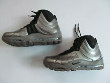 Nike Air Bakin' Posite 618056 002  man metallic pewter  shoes Brand New $225