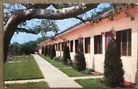 Vintage Old Postcard The Studio Motel, Oak Park Illinois- Postmarked 1966