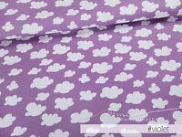 ca. 0,6m // 1Panel Mamasliebchen Jersey-Stoff Oskar /& fiep #Violet Fuchs Eule Panel