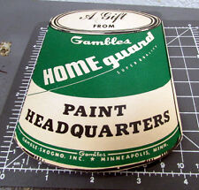 Vintage Gambles Home guard Paint Sewing Needle Book, great graphics & colors