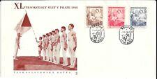 CZECHOSLOVAKIA 1948 SPORTS FDC