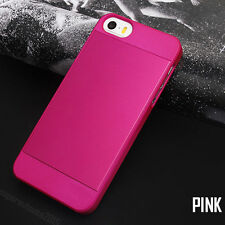 Thin Slim Exact Fit For iPhone 5 5s 6 6s PLUS Metal Case Cover Skin US STOCK