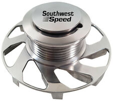 NEW SWS GM POLISHED BILLET ALTERNATOR PULLEY WITH FAN,6-RIB SERPENTINE,AC DELCO