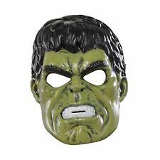 Child Incredible Hulk 1/2 Face Mask Avengers Superhero Fancy Dress