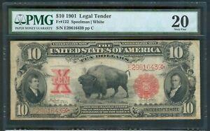 $10 Legal Tender series 1901, PMG Very Fine 20