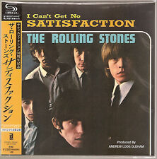 """ROLLING STONES """"Satisfaction"""" 2015 50th Anniversary SHM-CD Japan in 7"""" Sleeve"""