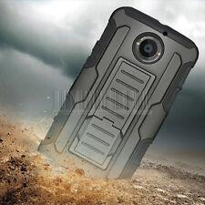 Rugged Armor Hybrid Case Hard Cover Holster For Motorola Moto X 2nd Gen 2014 X2