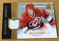 2006-07 Upper Deck Hockey Eric Staal  Jersey Cards 074/200 & 185/200