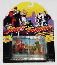 Street Fighter Bison vs. Guile Metal 2-Pack Official Movie Fighters 1994 MOC