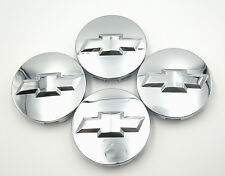 4pcs 83mm Chrome Wheel Center Hub Caps For Chevy Suburban Silverado 9596403