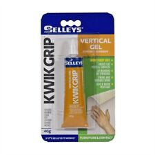 ADHESIVE Selleys KWIK GRIP Vertical Gel Adhesive 40g Non Drip
