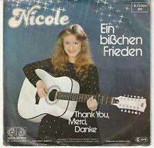 """NICOLE - 7"""" Single - Vinyl - Verschiedene Titel - gebraucht -"""