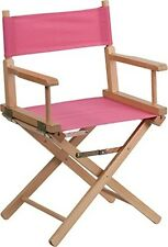 Flash Furniture Standard Height Directors Chair in Pink - TYD02-PK-GG NEW