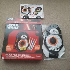 Star Wars Colour Your Own Speaker Disney colouring in. Own design kids speaker