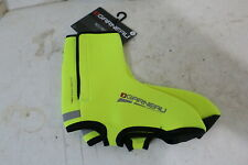 LOUIS GARNEAU NEO PROTECT II CYCLING SHOE COVERS LARGE BRIGHT YELLOW